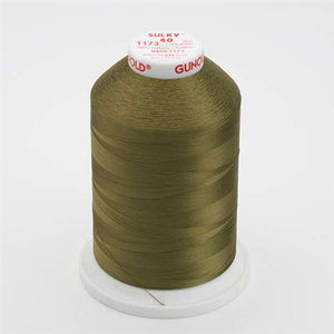 Sulky 40 wt 5500 Yard Rayon Thread - 940-1173 - Med Army Green