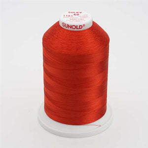 Sulky 40 wt 5500 Yard Rayon Thread - 940-1181 - Rust