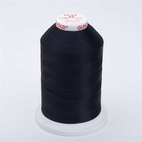 Sulky 40 wt 5500 Yard Rayon Thread - 940-1182 - Blue Black