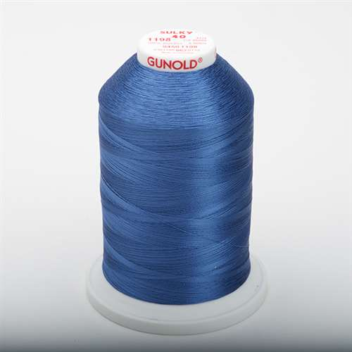 Sulky 40 wt 5500 Yard Rayon Thread - 940-1198 - Dusty Navy