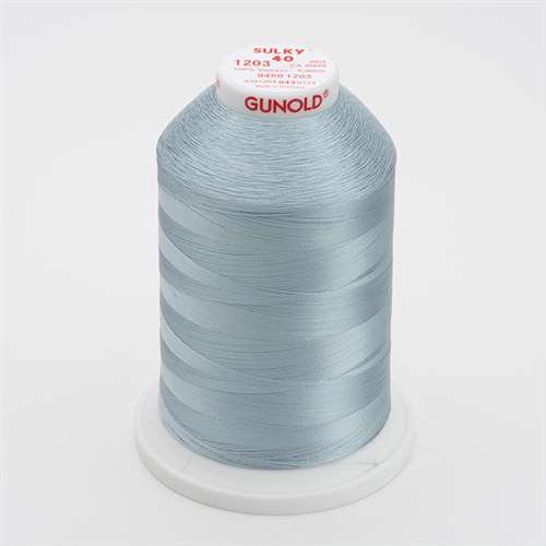 Sulky 40 wt 5500 Yard Rayon Thread - 940-1203 - Lt Weathered Blue