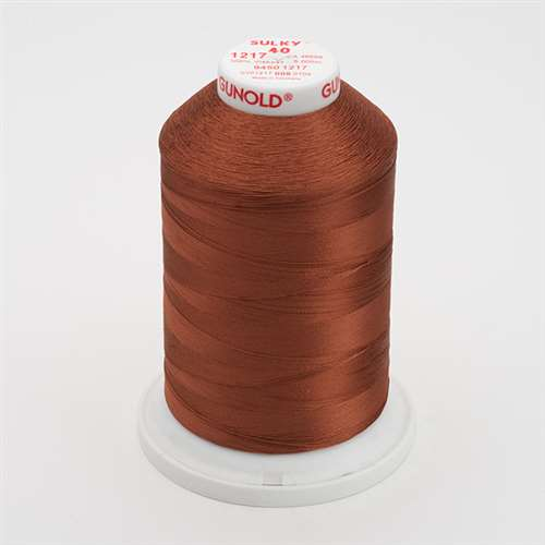 Sulky 40 wt 5500 Yard Rayon Thread - 940-1217 - Chestnut