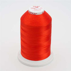 Sulky 40 wt 5500 Yard Rayon Thread - 940-1246 - Orange Flame