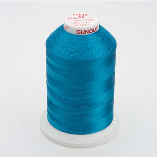 Sulky 40 wt 5500 Yard Rayon Thread - 940-1250 - Duck Wing Blue