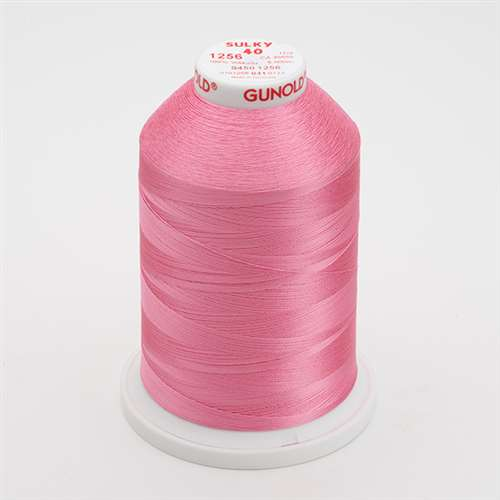 Sulky 40 wt 5500 Yard Rayon Thread - 940-1256 - Sweet Pink