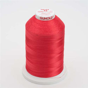 Sulky 40 wt 5500 Yard Rayon Thread - 940-1257 - Deep Coral