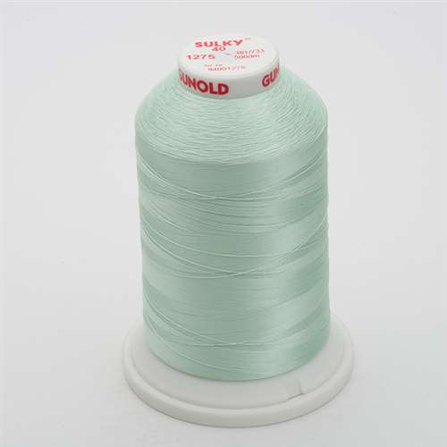 Sulky 40 wt 5500 Yard Rayon Thread - 940-1275 - Sea Mist
