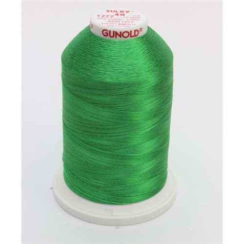 Sulky 40 wt 5500 Yard Rayon Thread - 940-1277 - Ivy Green