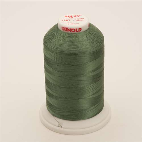 Sulky 40 wt 5500 Yard Rayon Thread - 940-1287 - French Green