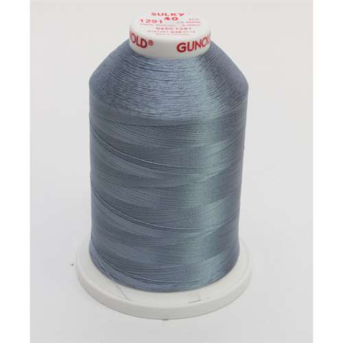Sulky 40 wt 5500 Yard Rayon Thread - 940-1291 - Winter Sky