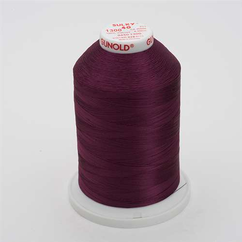 Sulky 40 wt 5500 Yard Rayon Thread - 940-1300 - Plum