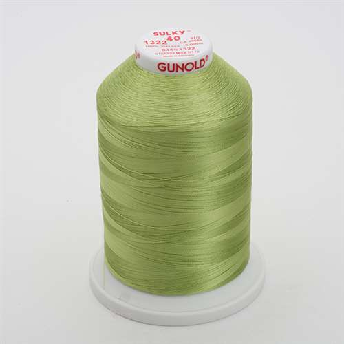 Sulky 40 wt 5500 Yard Rayon Thread - 940-1322 - Chartreuse