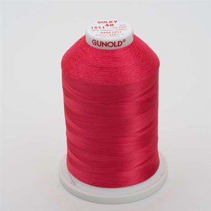 Sulky 40 wt 5500 Yard Rayon Thread - 940-1511 - Deep Rose