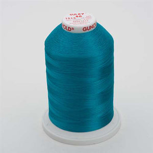 Sulky 40 wt 5500 Yard Rayon Thread - 940-1513 - Wild Peacock