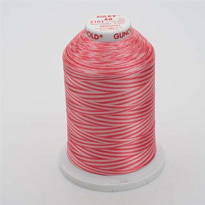 Sulky 40 wt 5500 Yard Rayon Thread - 940-2101 - Pinks Var.