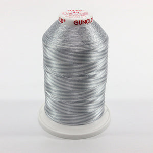 Sulky 40 wt 5500 Yard Rayon Thread - 940-2108 - Silv/Gray Var