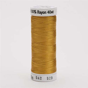 Sulky 40 wt 250 Yard Rayon Thread - 942-0523 - Autumn Gold