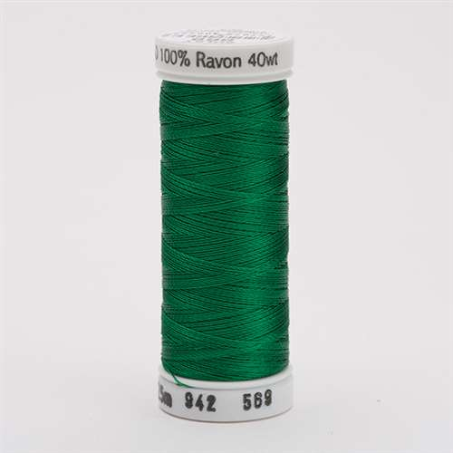 Sulky 40 wt 250 Yard Rayon Thread - 942-0569 - Garden Green