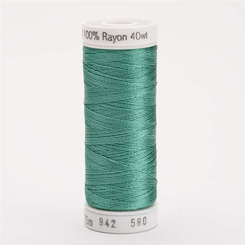 Sulky 40 wt 250 Yard Rayon Thread - 942-0580 - Mint Julip