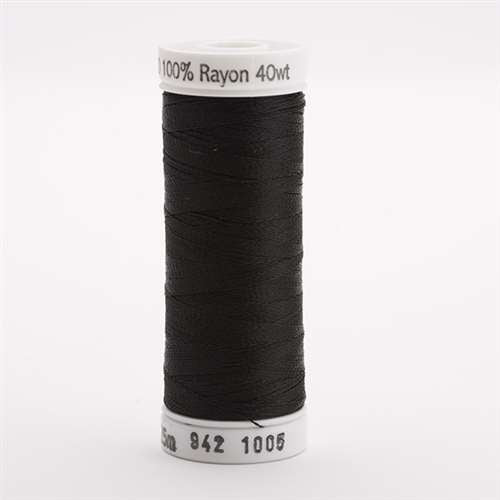 Sulky 40 wt 250 Yard Rayon Thread - 942-1005 - Black