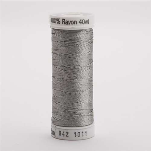 Sulky 40 wt 250 Yard Rayon Thread - 942-1011 - Steel Grey