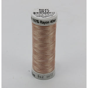 Sulky 40 wt 250 Yard Rayon Thread - 942-1017 - Pastel Peach