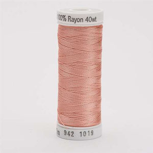 Sulky 40 wt 250 Yard Rayon Thread - 942-1019 - Peach