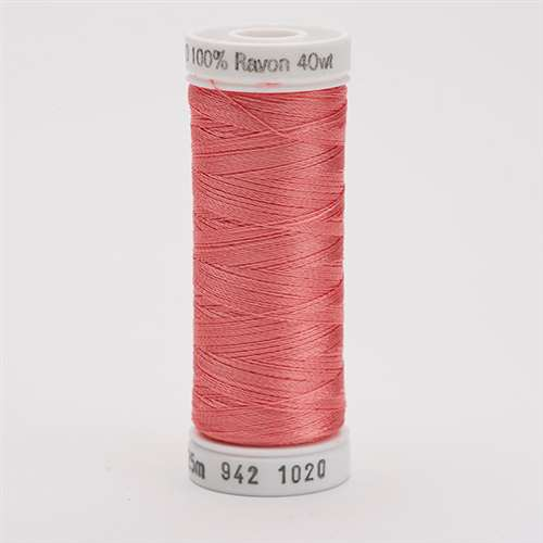 Sulky 40 wt 250 Yard Rayon Thread - 942-1020 - Dark Peach