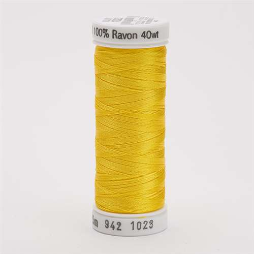 Sulky 40 wt 250 Yard Rayon Thread - 942-1023 - Yellow