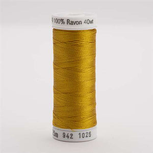 Sulky 40 wt 250 Yard Rayon Thread - 942-1025 - Mine Gold