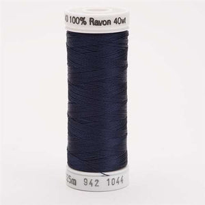 Sulky 40 wt 250 Yard Rayon Thread - 942-1044 - Midnight blue