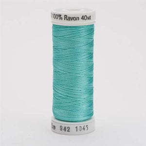 Sulky 40 wt 250 Yard Rayon Thread - 942-1045 - Light Teal