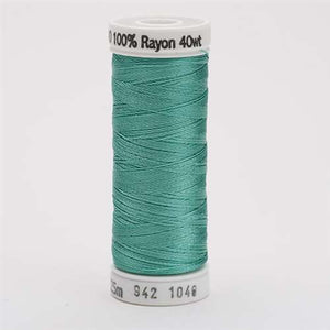 Sulky 40 wt 250 Yard Rayon Thread - 942-1046 - Teal