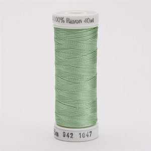 Sulky 40 wt 250 Yard Rayon Thread - 942-1047 - Mint Green