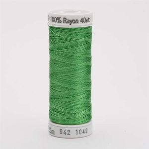 Sulky 40 wt 250 Yard Rayon Thread - 942-1049 - Grass Green