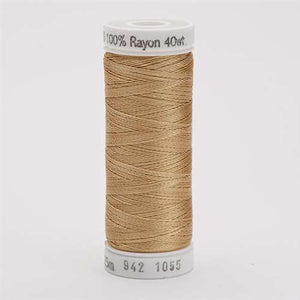 Sulky 40 wt 250 Yard Rayon Thread - 942-1055 - Tawny Tan