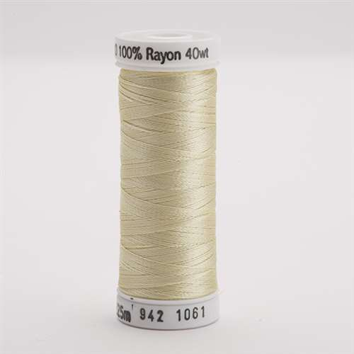 Sulky 40 wt 250 Yard Rayon Thread - 942-1061 - Pale Yellow