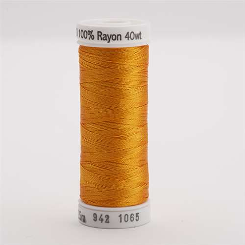 Sulky 40 wt 250 Yard Rayon Thread - 942-1065 - Orange Yellow