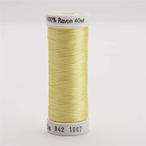 Sulky 40 wt 250 Yard Rayon Thread - 942-1067 - Lemon Yellow