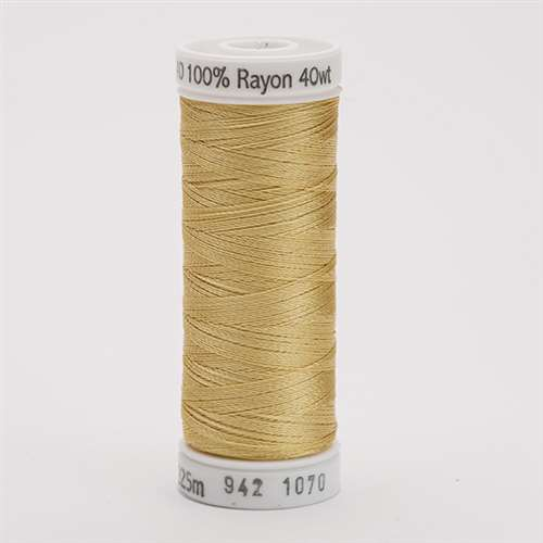 Sulky 40 wt 250 Yard Rayon Thread - 942-1070 - Gold