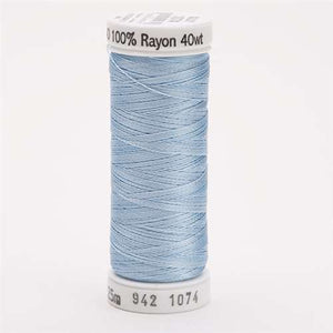 Sulky 40 wt 250 Yard Rayon Thread - 942-1074 - Powder Blue