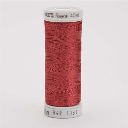 Sulky 40 wt 250 Yard Rayon Thread - 942-1081 - Brick