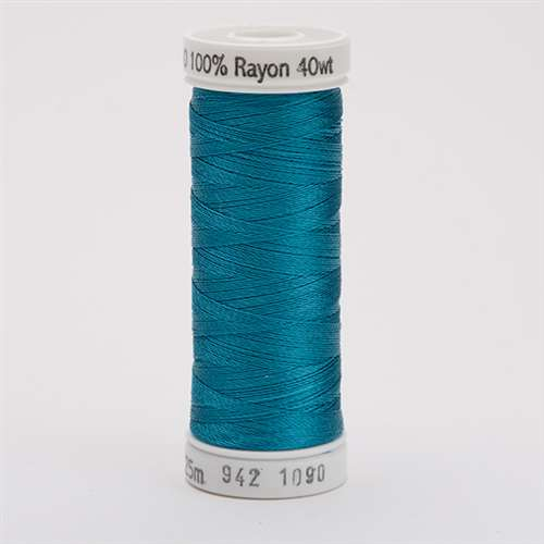 Sulky 40 wt 250 Yard Rayon Thread - 942-1090 - Deep Peacock