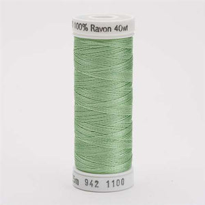 Sulky 40 wt 250 Yard Rayon Thread - 942-1100 - Light Grass Green