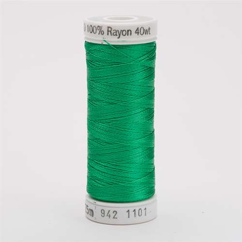 Sulky 40 wt 250 Yard Rayon Thread - 942-1101 - True Green