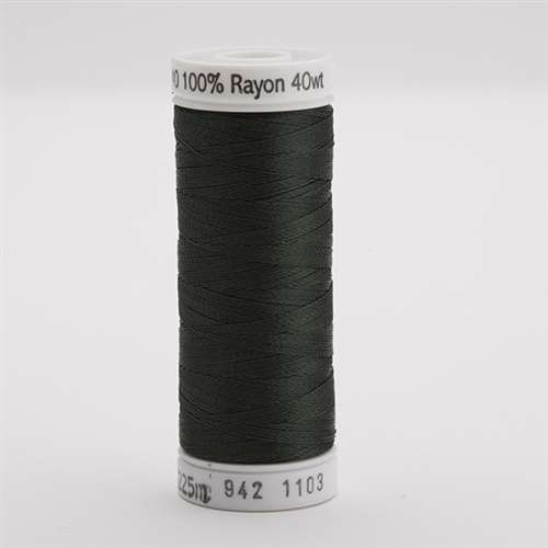 Sulky 40 wt 250 Yard Rayon Thread - 942-1103 - Dark Khaki