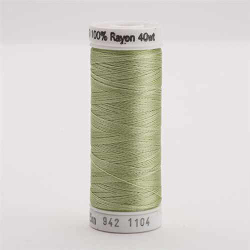 Sulky 40 wt 250 Yard Rayon Thread - 942-1104 - Pastel Yellow/green