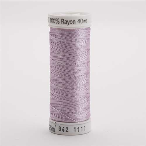 Sulky 40 wt 250 Yard Rayon Thread - 942-1111 - Pastel Orchid