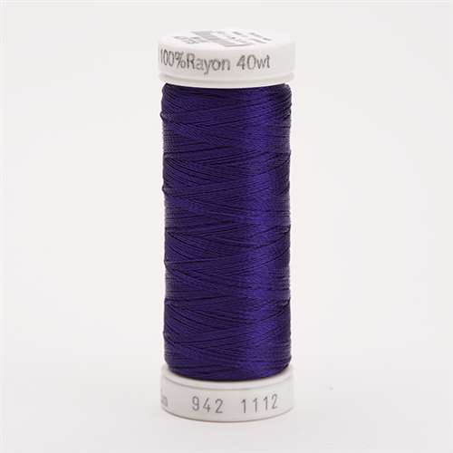 Sulky 40 wt 250 Yard Rayon Thread - 942-1112 - Royal Purple