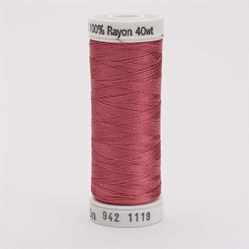 Sulky 40 wt 250 Yard Rayon Thread - 942-1119 - Dark Mauve
